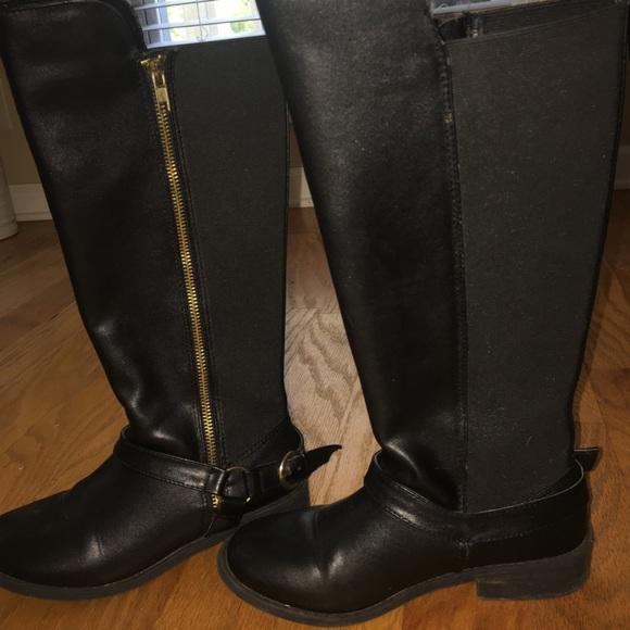 e6bf4c1e0c4 Steve Madden kids tall black boots
